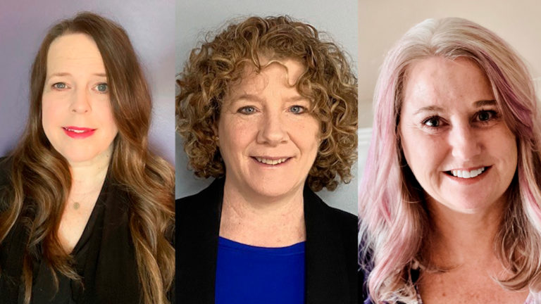 Virginia K. Busby, Dianne Garibotto, Camille Privett and the Economic Impact Payment team